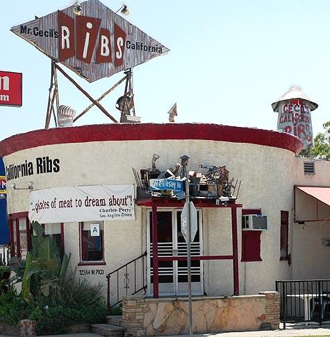 Rib joint on Pico Boulevard ...