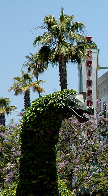 Topiary Dinosaur of Santa Monica