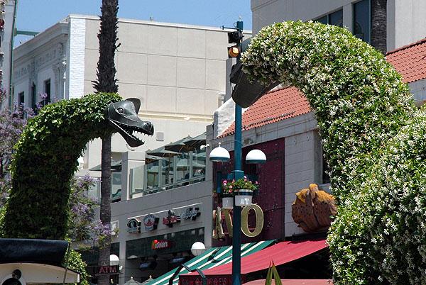Topiary Dinosaurs of Santa Monica