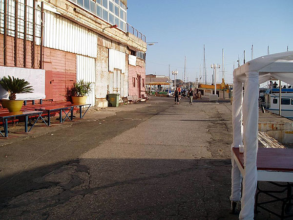 Derelict buildings in Jaffa, a common sight -