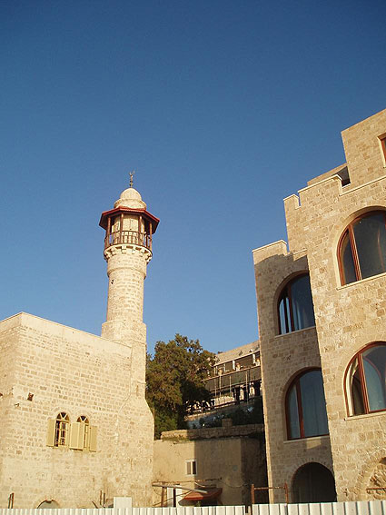 Jaffa Mosque, refurbished and operational -