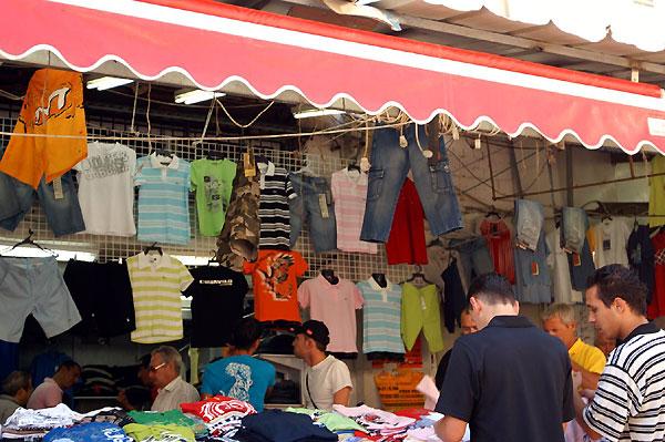 Carmel market street, Tel-Aviv