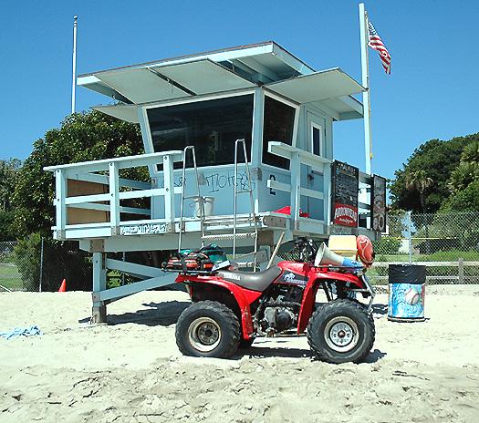 Malibu Call to the Wall, July 2005 Lifeguard Stuff