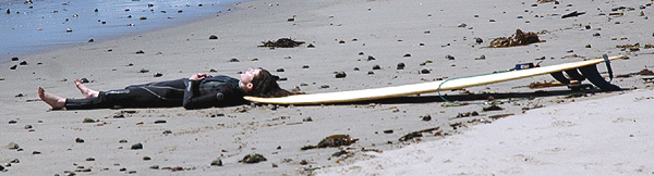 Little Surfer Girl - Malibu