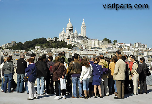 For unusual views of Sacré Coeur ...