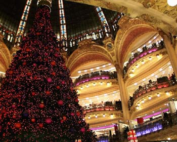 Galeries Lafayette, Christmas 2005