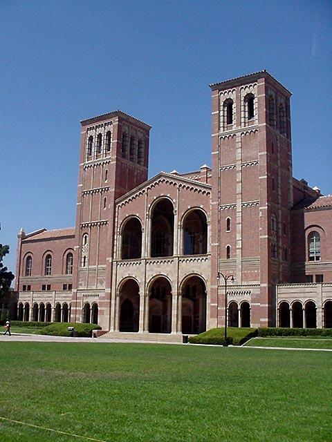 Royce Hall, UCLA ...