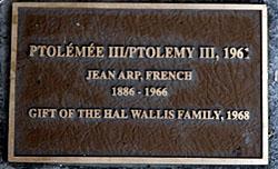 Jean (Hans) Arp. Ptolemy III, 1961
