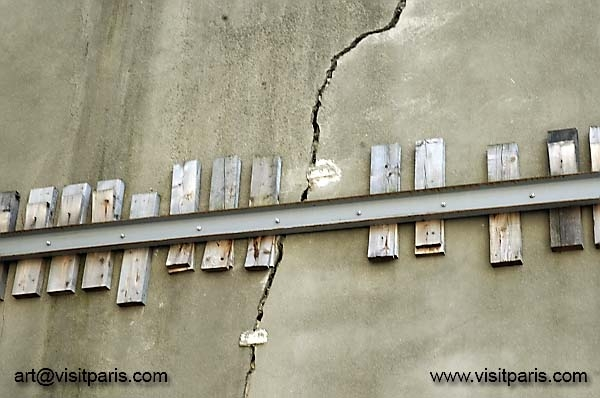 Old French wall...