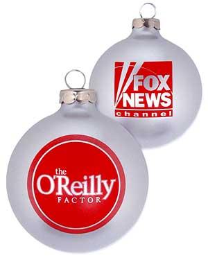 Fox News Christmas Tree Ornaments