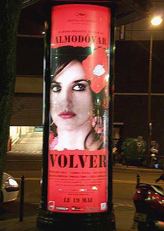 Film poster, Paris, 19 May, 2006 - night